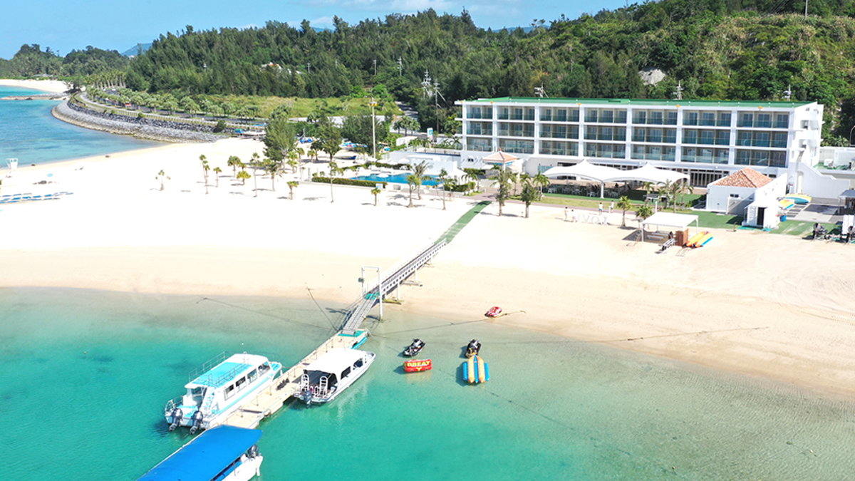 OKINAWA KARIYUSHI LCH. RESORT on The Beach